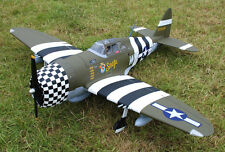 1/5 Scale P-47C THUNDERBOLT RAZOR BACK scratch build R/c Plane Plans 90 in. WS