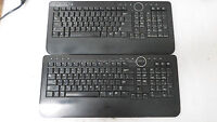 LOT OF 2 - Dell 0M756C Y-RBP-DEL4 Desktop Bluetooth Keyboard