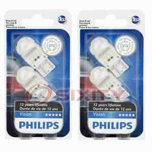 2 pc Philips Outer Tail Light Bulbs for Mitsubishi Lancer Outlander ev