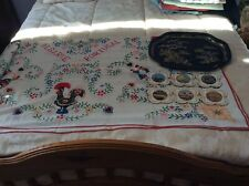 Table Cloth Tray And Costers
