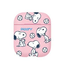 Peanuts Official Snoopy Friends Apple Airpod Protective Hard Case Cover Skin 1/2
