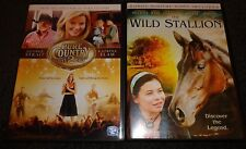 PURE COUNTRY 2:THE GIFT & THE WILD STALLION-2 DVD Family movies-MIRANDA COSGROVE