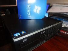 HP Elite 8300 SFF PC Core i7 3770 @ 3.40GHz 4 Go 320 Go Win 7 Pro gratuitement p&p