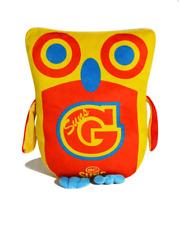 Gold Coast Suns AFL Large Owl Cushion Pillow Toy
