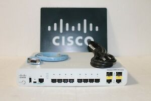 Cisco WS-C2960CG-8TC-L 8 Ethernet Ports, LAN Base Compact Switch -FAST SHIPPING-