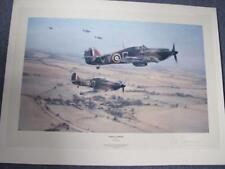 """Robert Taylor Print """"Moral Support"""" Signed By Peter Townsend - Unframed"""