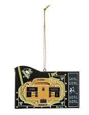 Pittsburgh Penguins Team Scoreboard Ornament