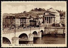 AD0852 Torino - Città - Chiesa della Gran Madre di Dio - Animazione sul Ponte