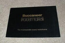Buccaneer Spacemaker Motorhome Brochure 1975 - Bedford CF Commer Transt Leyland