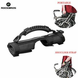 ROCKBROS Folding Bike Frame Carry Shoulder Strap Bicycle Carrier For Brompton