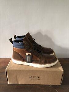 Men's US Size 11 Crevo Martel Fashion Sneaker Boot Chestnut CV1439-225