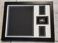 The NWO WWE WCW UN SIGNED 11X14 TEAM LOGO PICTURE FRAME FOR YOUR 8X10 PHOTO