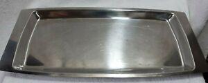 Scanli Denmark Vintage Stainless Steel Serving Tray Retro 18-8 SS