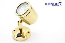 BLUE WHALE Marine Brass Swivel Head Cabin/Reading/Chart LED Light