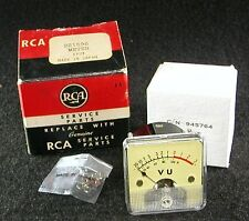-20 to +3 VU Volume Panel Meter For Tube Audio Amplifier - RCA C/N 945764