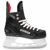 Bauer Mens Elite Ice Hockey Skate Lace Up Padded Tongue