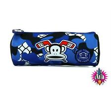 Paul Frank Bleu Camouflage Zip Pencil Case