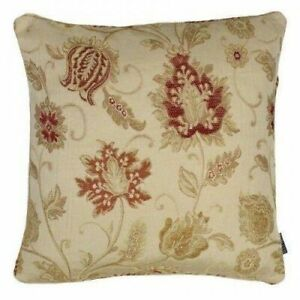 "Paoletti 'Zurich' Jacquard Cushion Cover - Champagne (18"" x 18"") Pls Read Note"