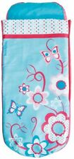 Flowers Girls Junior ReadyBed - Kids Airbed and Sleeping Bag in One