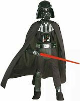 Star Wars Authentic Rubies Darth Vader Childs Costume & Helmet Large NIP