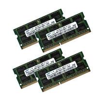 4x 4GB 16GB DDR3 1333 RAM Speicher HP EliteBook 8740w Markenspeicher Samsung