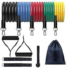 Work Out Bands At Home Resistance Band Set - Exercise Fitness Equipment