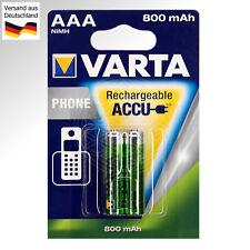 2 x VARTA Phone Akkus AAA für Siemens Gigaset AS280 AS285 A400 A580 A585 A600