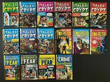 Lot of (16) EC Reprints (1990's) An Entertaining Comics Tales From the Crypt