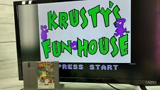Nintendo NES Krusty's Fun House with Simpsons Cartridge Only