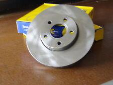 Ford Focus 2005- LS LT LV 265mm Rear Solid Brake Disc Rotors Pair CL LX Zetec