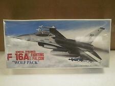 "NEW MODEL- FUJIMI- 24002- F-16A FIGHTING FALCON ""WOLF PACK""- 1:72- NEW- W54"