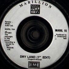 """MARILLION dry land 7"""" WS EX/ uk emi MARIL 15"""