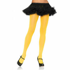 Yellow Nylon Tights Pantyhose for Adult Costume