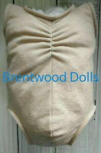 Doe Suede Reborn Doll Body- Full Limb- Choose colour and size- Brentwood Dolls