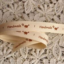 Single-Sided Cotton 1-5 Craft Ribbon