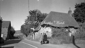 B/W Large Vintage Negative Houghton West Sussex 1940s +Copyright W655