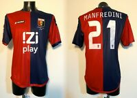 Manfredini Genoa maglia indossata Serie A 2013 2014 match worn shirt WASHED