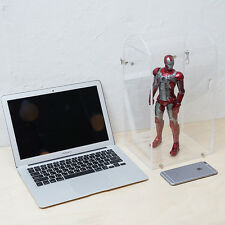 Curved acrylic display case for 12 inch action figure case, Robots, Collectibile