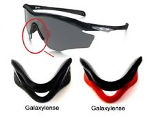 Galaxy Nose Pads Rubber Kits For Oakley M2 Frame Sunglasses Black/Red