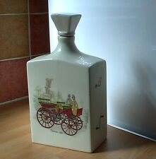 Limburg VINTAGE CARS Liqueur Bottle, shabby chic vintage retro
