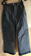 Snow Pants M Youth Brown By Pulse