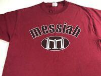 Messiah T-Shirt Adult Medium Jesus Christian Mens Womens Faith God Savior Church