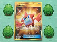 Pokemon - Rotom Dex - 159/149 - Sun and Moon - Secret Rare
