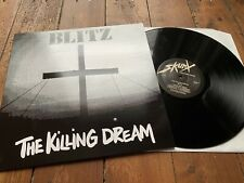 Blitz LP The Killing Dream Oi Punk New Wave Vinyl