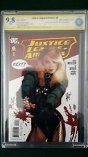 Justice League of America #6 1st Print CBCS 9.8 1:10 Adam Hughes SS