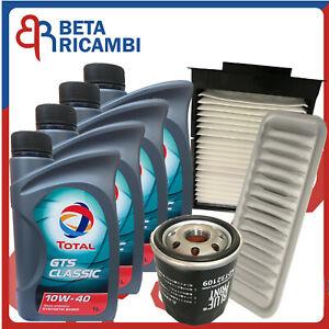 Kit tagliando Citroen C1 Peugeot 107 Toyota Aygo 1.0 50 Kw 3 Filtri+4 Olio 10W40
