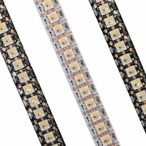 SK6812 RGBW 4 In 1 30/60/144 Leds Individual Addressable Led Strip Light DC 5V