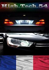 4 Ampoules LED éclairage veilleuses plaque anti erreur ODB Canbus Peugeot 307