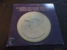 HANK WILLIAMS 14 Greatest Hits Vol 3 LP (VG+)