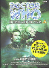 Doctor Who - The Crusade / Space Museum - Box Set (VHS, 1999, Video And CD)